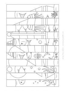 Agamograph Teknigi Ile Boyama Ve Katlama Calismasi