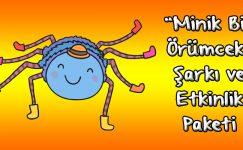 """""""Minik Bir Örümcek"""" Video ve Etkinlik Paketi"""