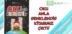 Oku – Anla – Renklendir Kitabımız Çıktı