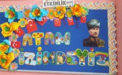 29 Ekim Cumhuriyet Bayramı Pano Örnekleri 2019