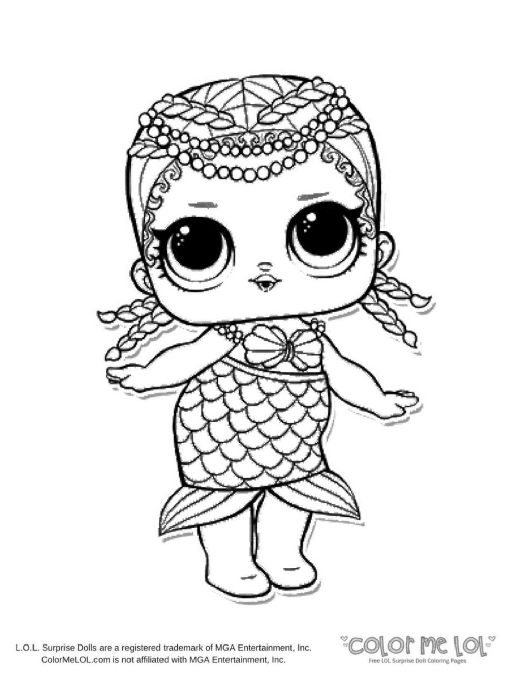 Lol Coloring Pages Coloring Pages Ba Doll Coloring Page Beautiful