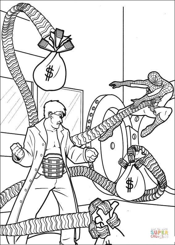 Orumcek Adam Boyama Sayfasi 10