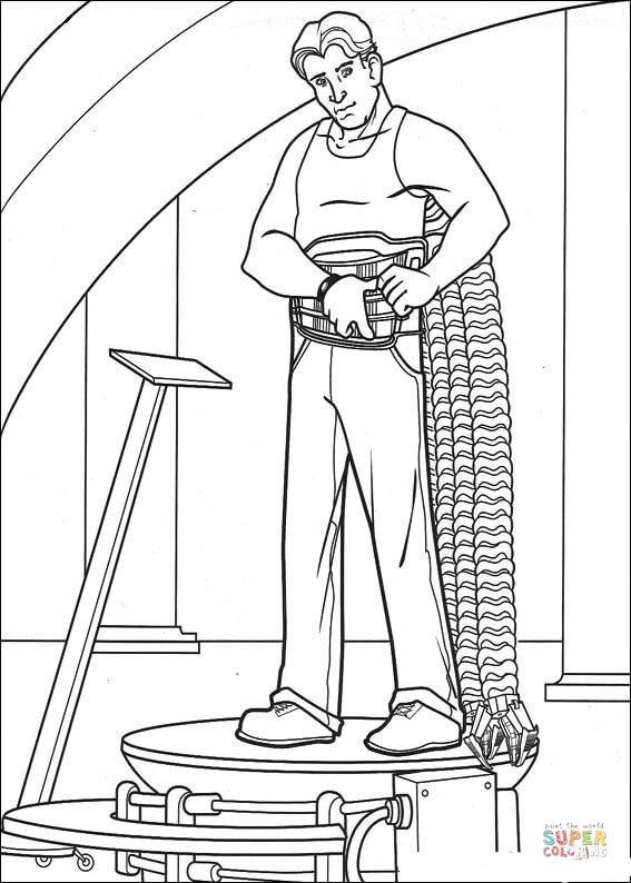 Orumcek Adam Boyama Sayfasi 12