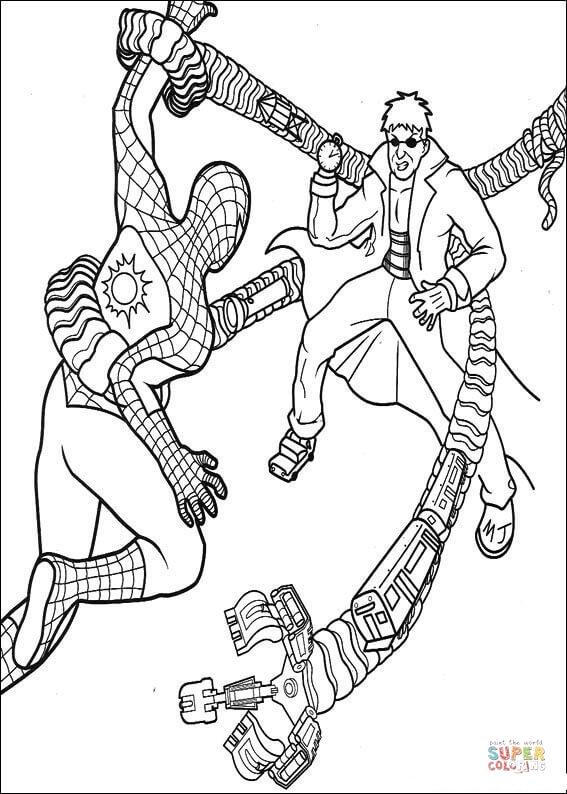 Orumcek Adam Boyama Sayfasi 25