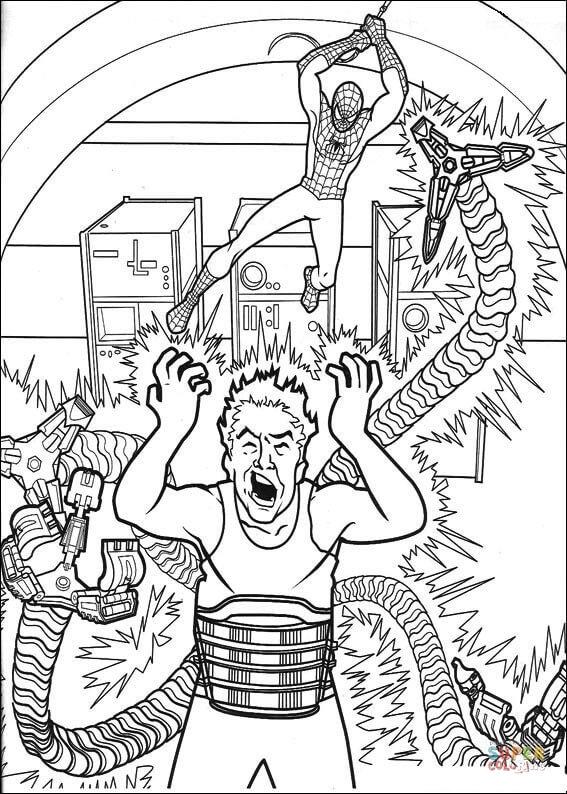 Orumcek Adam Boyama Sayfasi 53