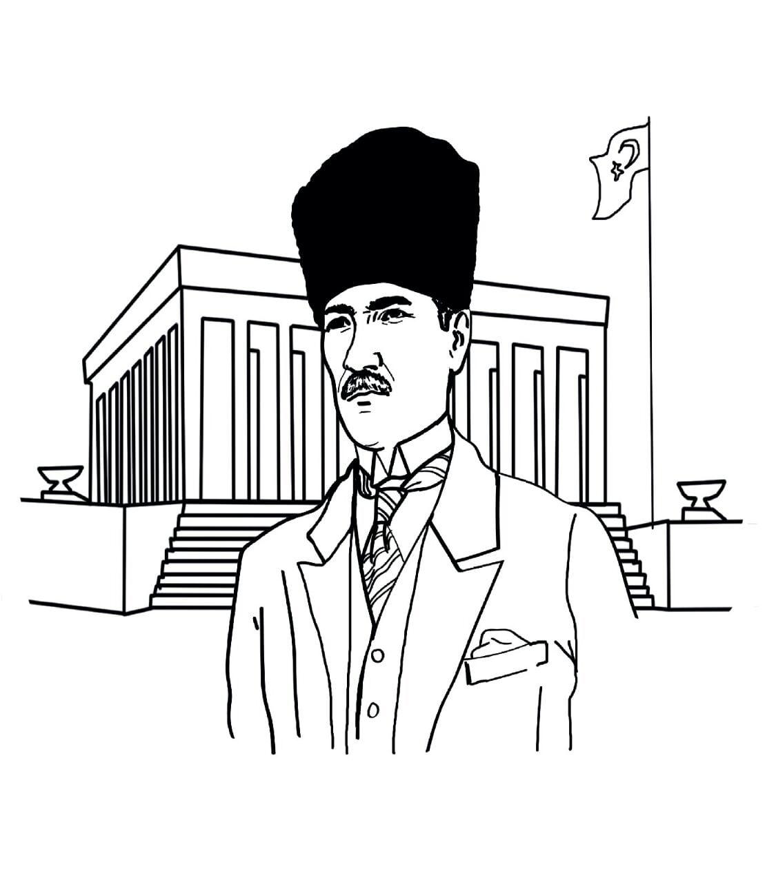 10 Kasim Boyama Sayfalari Sinif Ogretmenleri Icin Ucretsiz Ozgun
