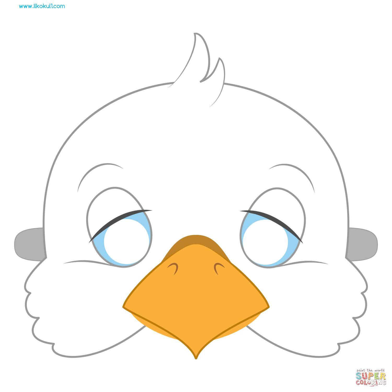 Hayvan Maskesi Sablonu 44 Sinif Ogretmenleri Icin Ucretsiz