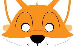 Hayvan Maskesi Şablonları -156 Farklı Maske-