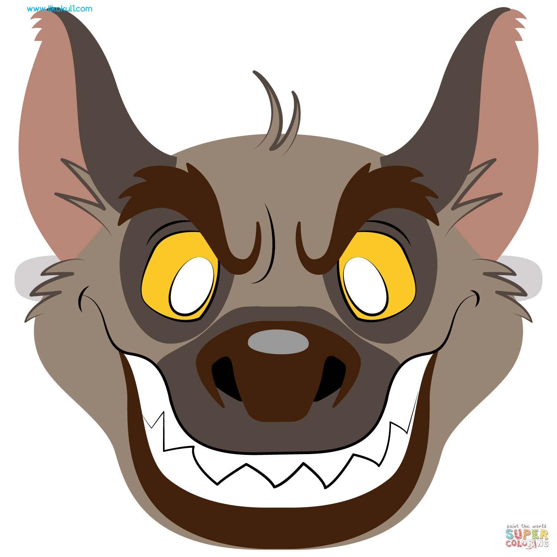 Hayvan Maskesi Sablonlari 156 Farkli Maske Sinif Ogretmenleri