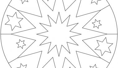 Basit Mandala Boyama Ornekleri Sinif Ogretmenleri Icin Ucretsiz