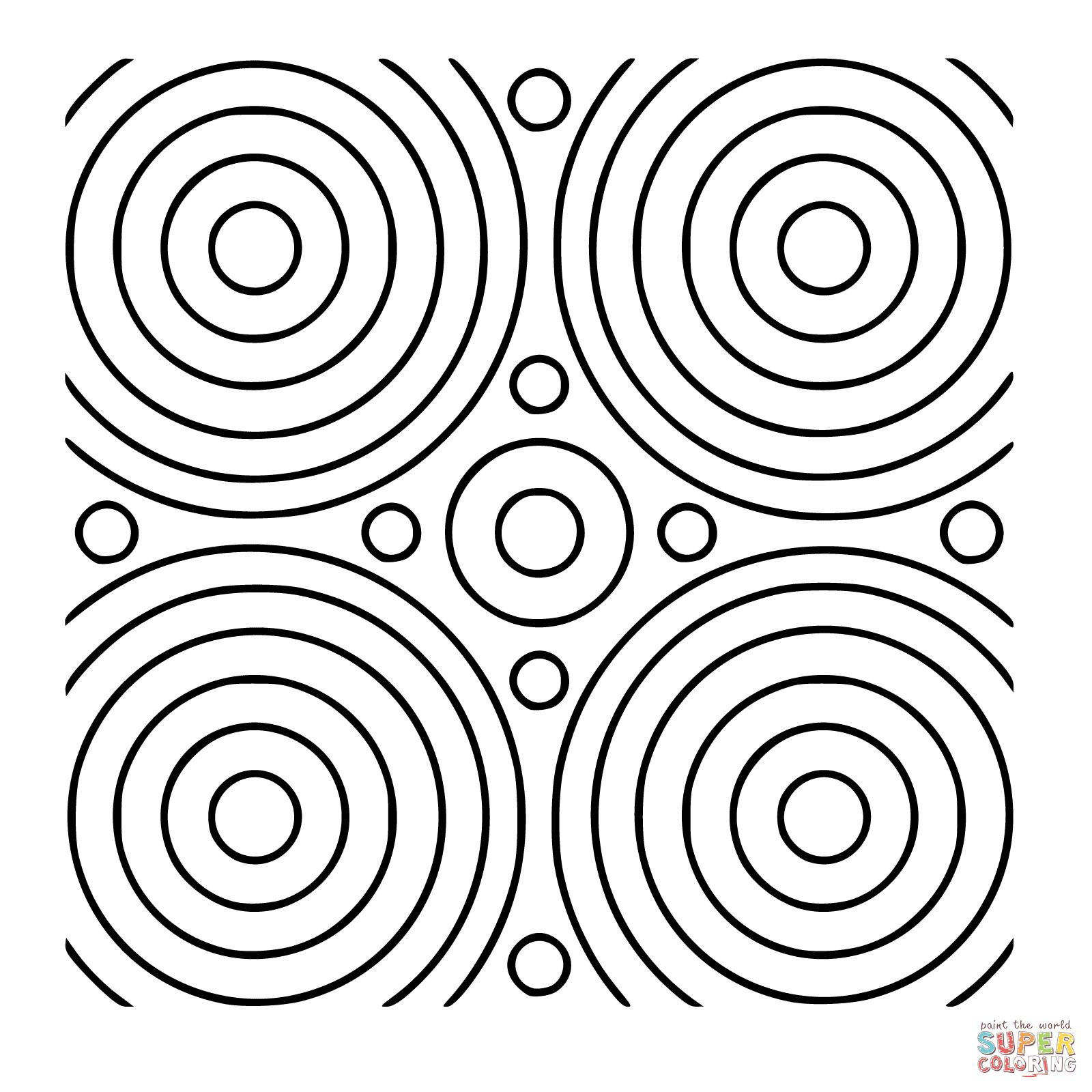 Geometrik Mandala Boyama 2 Sinif Ogretmenleri Icin Ucretsiz