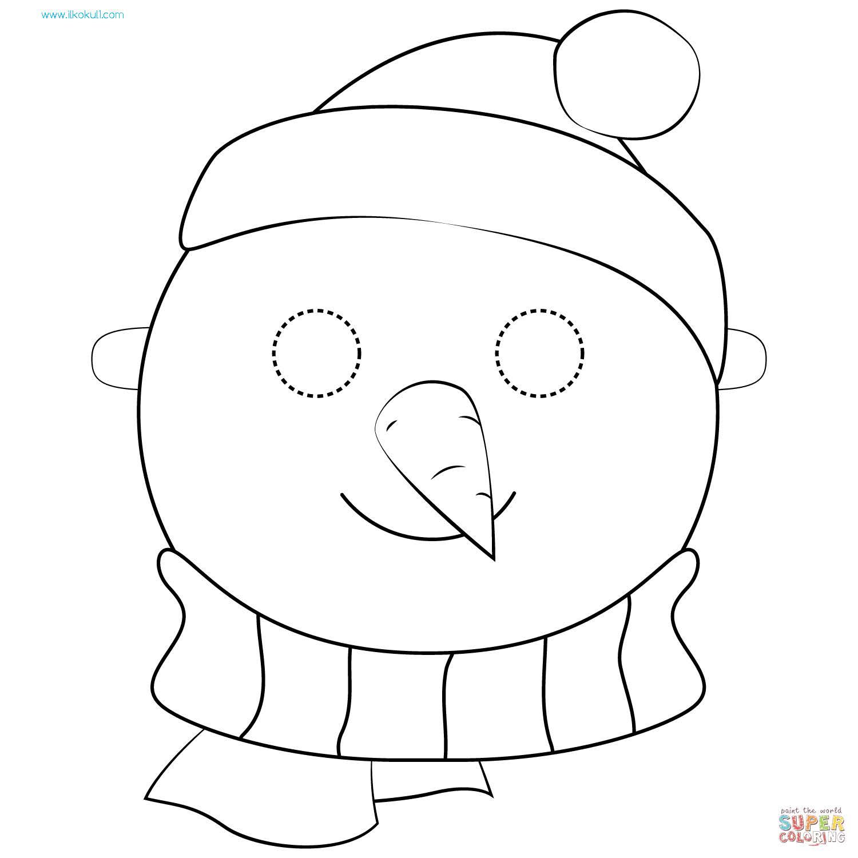 Kardan Adam Boyama Sayfasi 16 Sinif Ogretmenleri Icin Ucretsiz