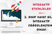 2. Sınıf Hayat Bilgisi -1. Ünite- İnteraktif Değerlendirme Sınavı