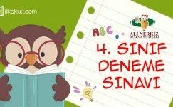 4. SINIF 1. DÖNEM 3. DENEME SINAVI (KDS3)