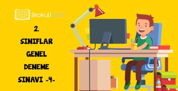 2. Sınıflar Online 2. Dönem 4. Deneme Sınavı