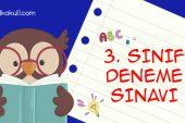 #EvdeKal 3. Sınıflar Genel Deneme Sınavı