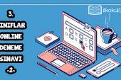3. Sınıflar Online Deneme Sınavı -2-