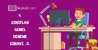 4. Sınıflar Online Deneme Sınavı -3-