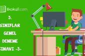 3. Sınıflar Online Deneme Sınavı -3-