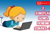 2. Sınıflar 2. Dönem 7. Online Deneme Sınavı