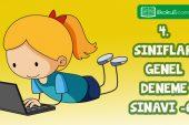 4. Sınıflar 2. Dönem 6. Online Deneme Sınavı