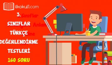 3. Sınıf Türkçe Değerlendirme Testleri