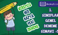 1. Sınıf Değerlendirme Sınavı -5-