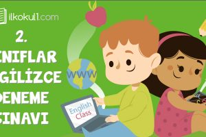 2. Sınıf İngilizce Genel Deneme Sınavı