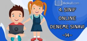 4. Sınıflar 2. Dönem 14. Online Deneme Sınavı
