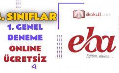 4. Sınıflar -Genel Değerlendirme Testi 1-