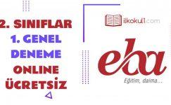 2. Sınıflar -Genel Değerlendirme Testi 1-