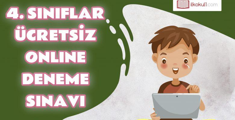 4. Sınıflar Genel Deneme Sınavı -4-