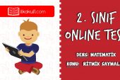 2. Sınıf Matematik -RİTMİK SAYMALAR- Online Test