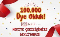 100.000 Üye Hediye Çekilişi