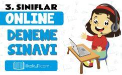 3. Sınıflar Genel Deneme Sınavı -8-