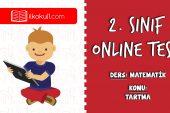 2. Sınıf Matematik -TARTMA- Online Test