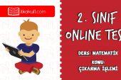 2. Sınıf Matematik -DOĞAL SAYILARLA ÇIKARMA İŞLEMİ- Online Test
