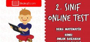 2. Sınıf Matematik -ONLUK BOZARAK ÇIKARMA İŞLEMİ- Online Test