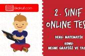2. Sınıf Matematik -NESNE GRAFİĞİ VE TABLO- Online Test