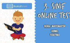 3. Sınıf Matematik -TARTMA- Online Test
