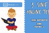 3. Sınıf Matematik -TARTMA 2- Online Test