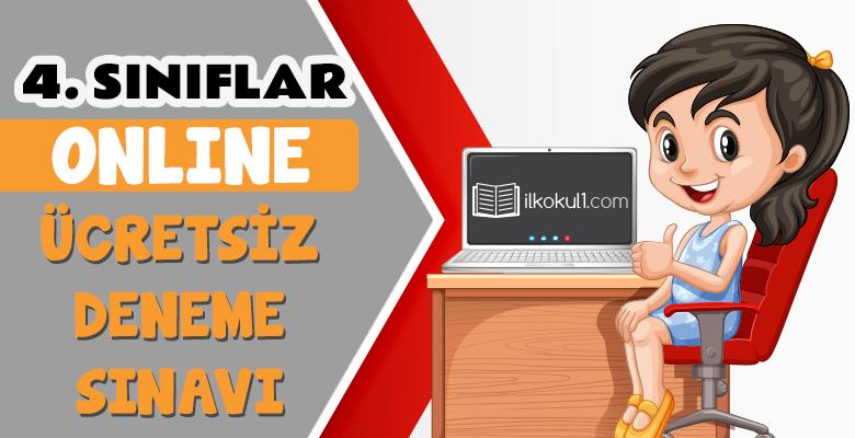 4. Sınıflar 2. Dönem Online Genel Deneme Sınavı -2-