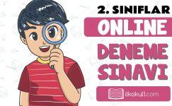 2. Sınıflar 2. Dönem Online Genel Deneme Sınavı -4-