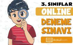 3. Sınıflar 2. Dönem Online Genel Deneme Sınavı -4-