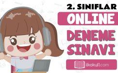 2. Sınıflar 2. Dönem Online Genel Deneme Sınavı -5-