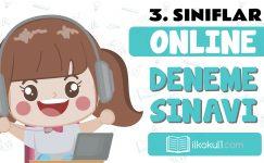 3. Sınıflar 2. Dönem Online Genel Deneme Sınavı -5-