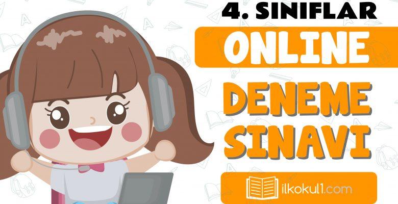 4. Sınıflar 2. Dönem Online Genel Deneme Sınavı -5-