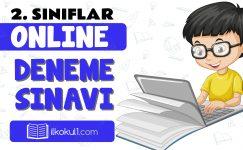 2. Sınıflar 2. Dönem Online Genel Deneme Sınavı -6-