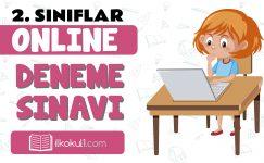 2. Sınıflar 2. Dönem Online Genel Deneme Sınavı -3-