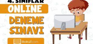 4. Sınıflar 2. Dönem Online Genel Deneme Sınavı -3-